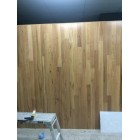 SOLID TIMBER BLACKBUTT ON WALL