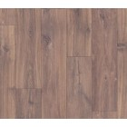 MIDNIGHT OAK BROWN, PLANKS LAMINATE CLASSIC QSM058